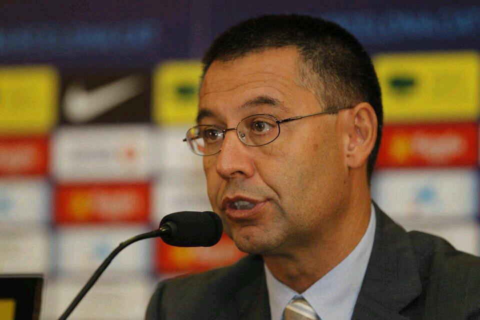 Voorzitter Barcelona Bartomeu