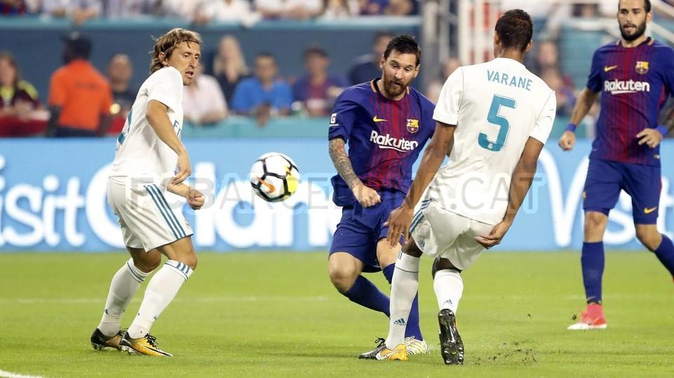 Messi clasico Barcelona