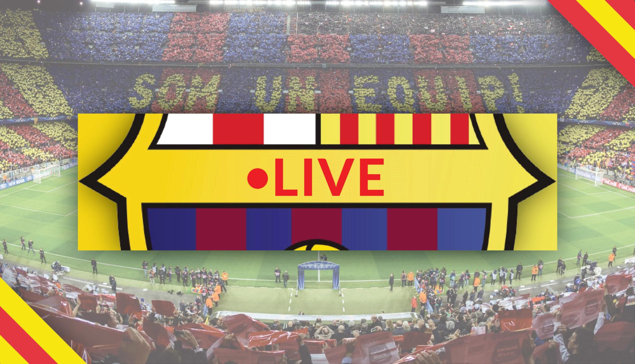 Live FC Barcelona