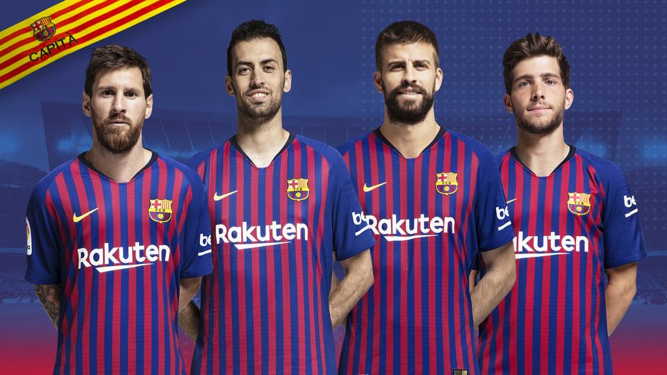aanvoerders Barcelona
