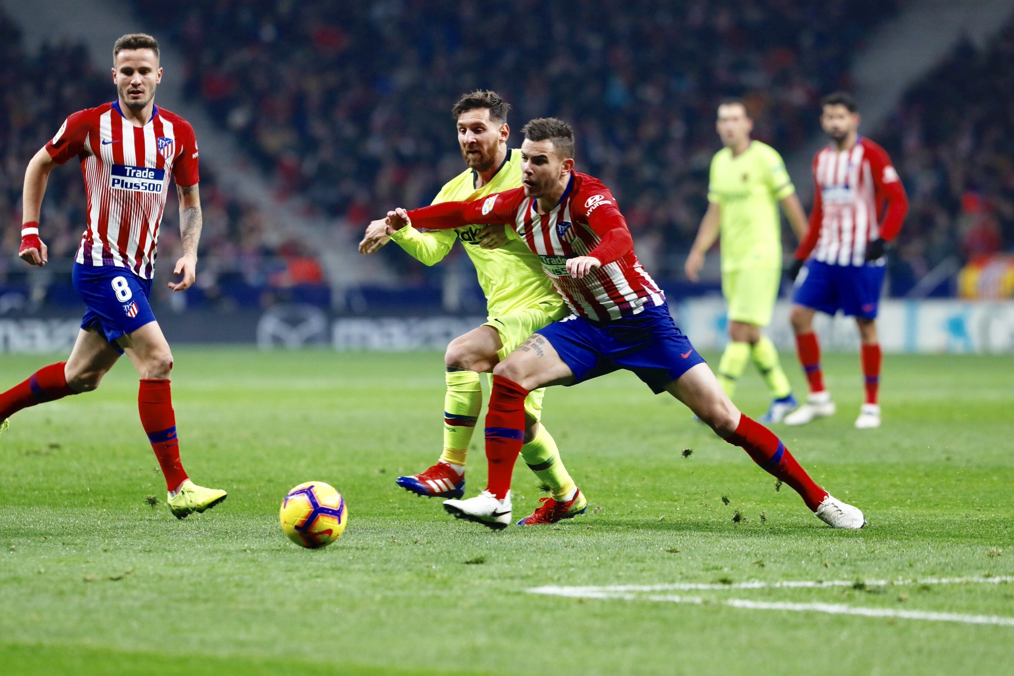 Messi FC Barcelona-Atletico Madrid