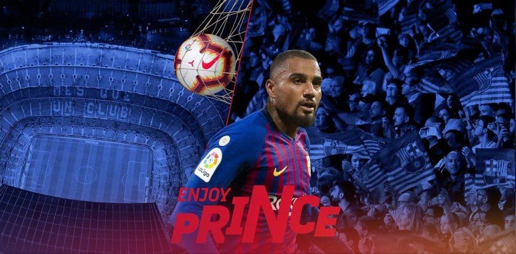 Kevin-Prince Boateng FC Barcelona