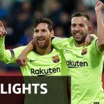 Messi en Alba tegen Girona