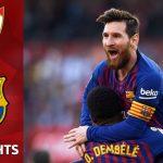 Messi hattrick Sevilla