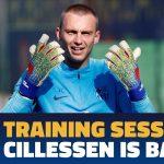 Jasper Cillessen Blessure