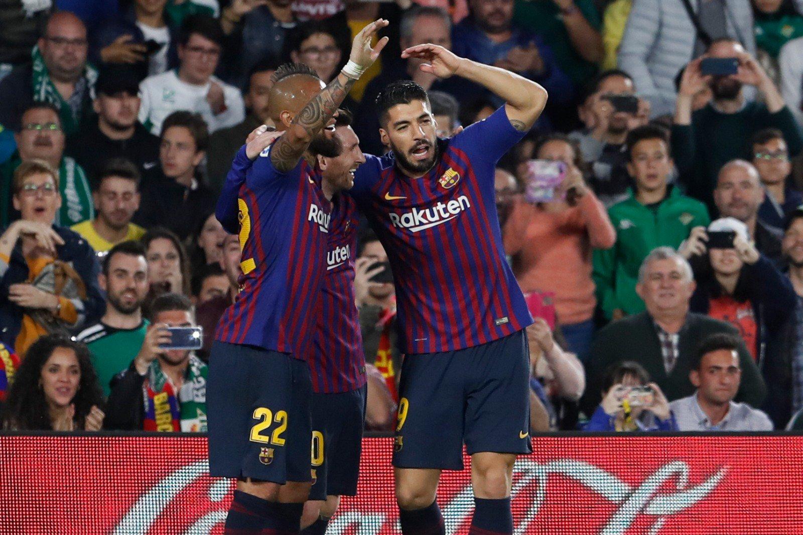 Messi - Suarez - Vidal