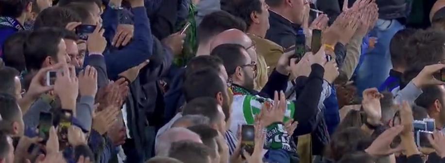 Betis fans Messi