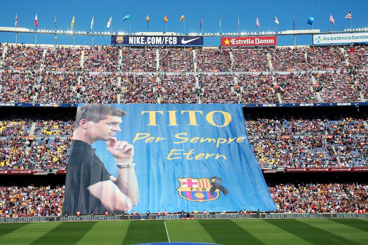 Tito Vilanova Camp Nou