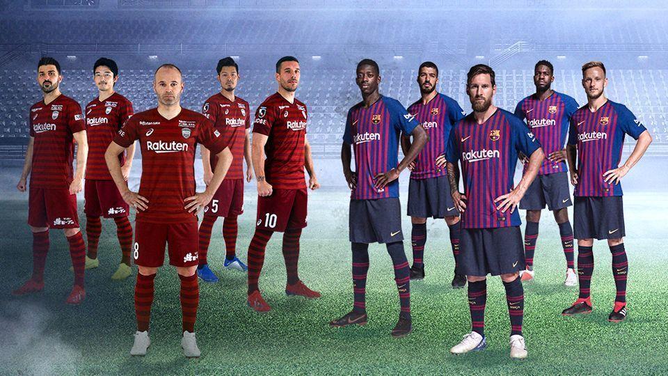Vissel Kobe - FC Barcelona