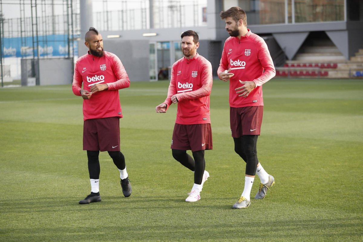 Messi Pique Vidal
