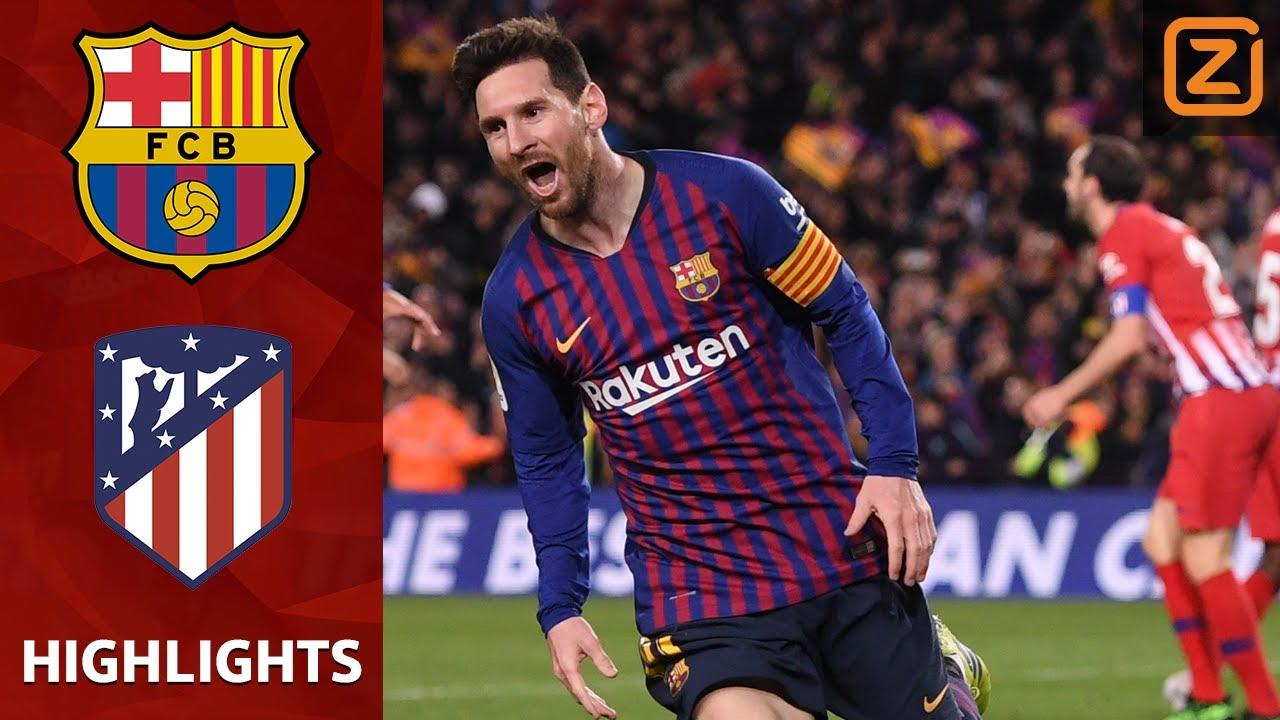 Samenvatting FC Barcelona Atletico Madrid