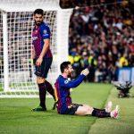 Messi's doelpunt tegen Liverpool