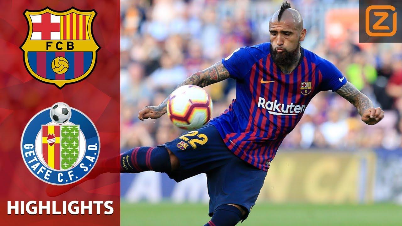 Samenvatting-FC Barcelona-Getafe