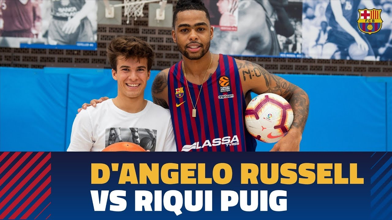 D'Angelo Russell FC Barcelona