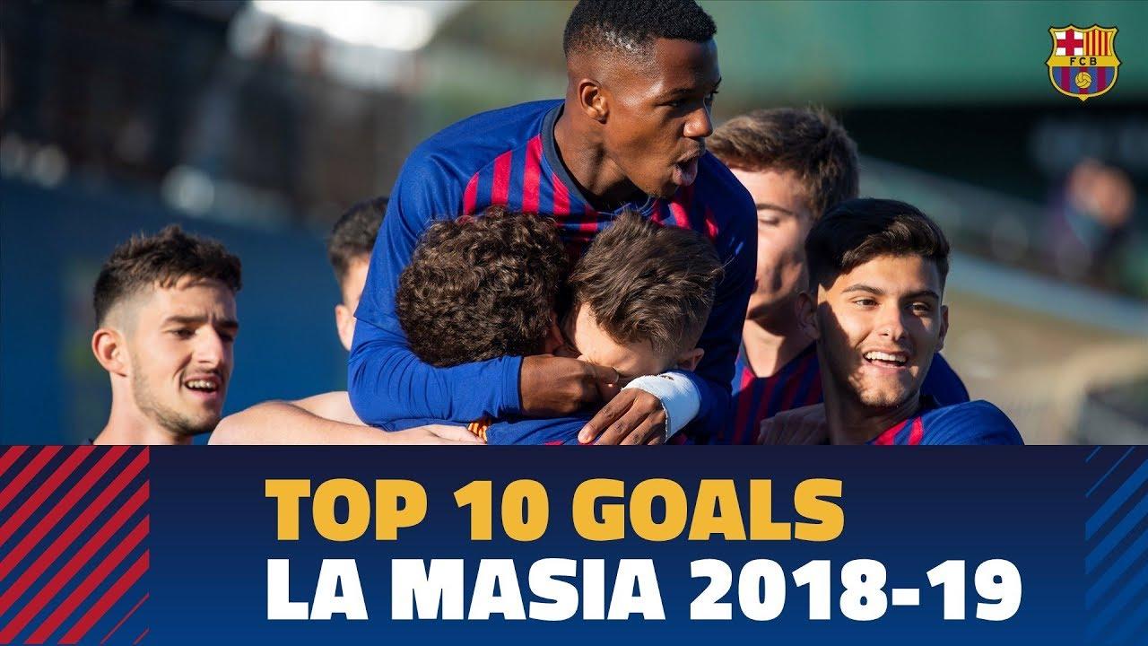 La Masia Goals 18/19