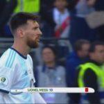 Messi rode kaart