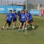 Training Barcelona