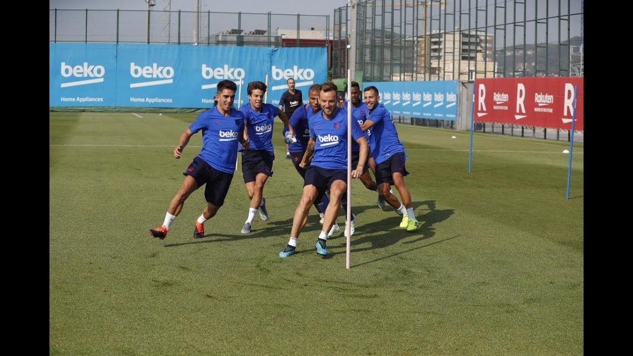 Training Barcelona