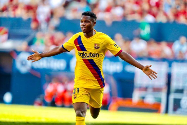 Ansu Fati first goal