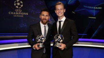 Lionel Messi en Frenkie de Jog