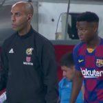 Ansu Fati debuut FC Barcelona