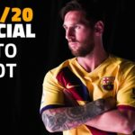 Messi new tenue FC Barcelona