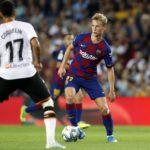 Frenkie de Jong vs Valencia