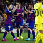 Lionel Messi, Arthur Melo, Sergio Busquets