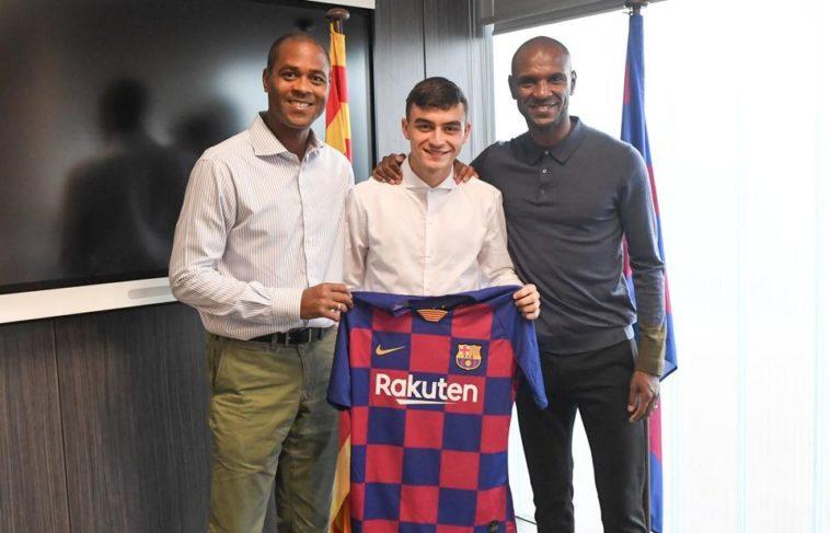 Pedri Las Palmas FC Barcelona