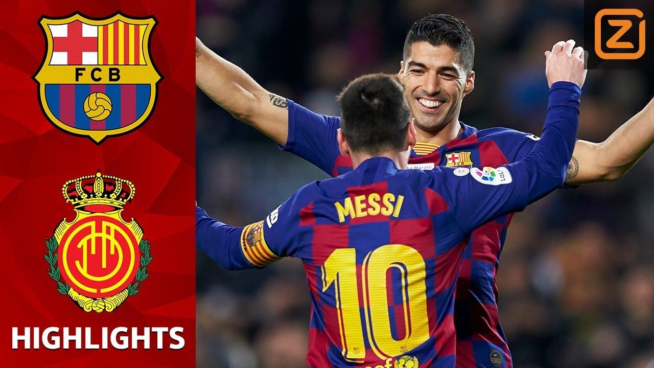FC Barcelona Real Mallorca samenvatting