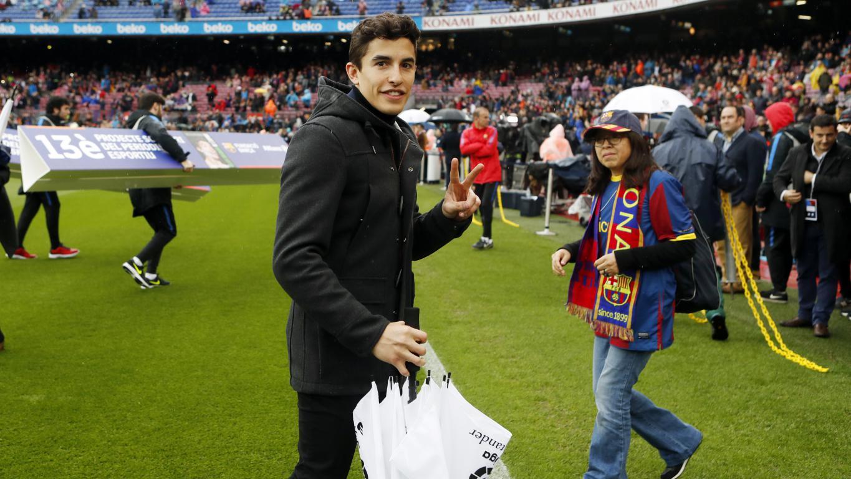 Marc Marquez bij FC Barcelona