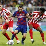 Messi tegen Atletico Madrid in de Spaanse Supercup