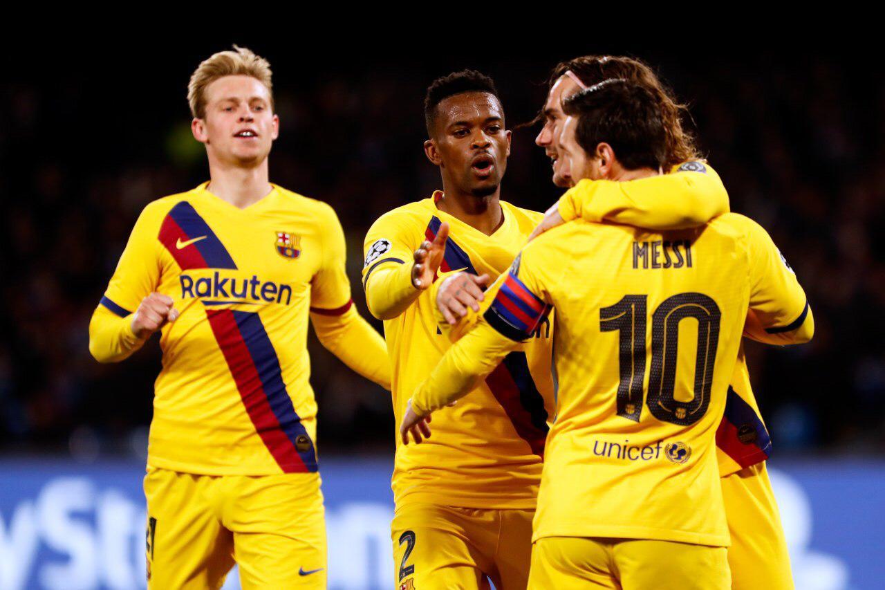 Napoli FC Barcelona