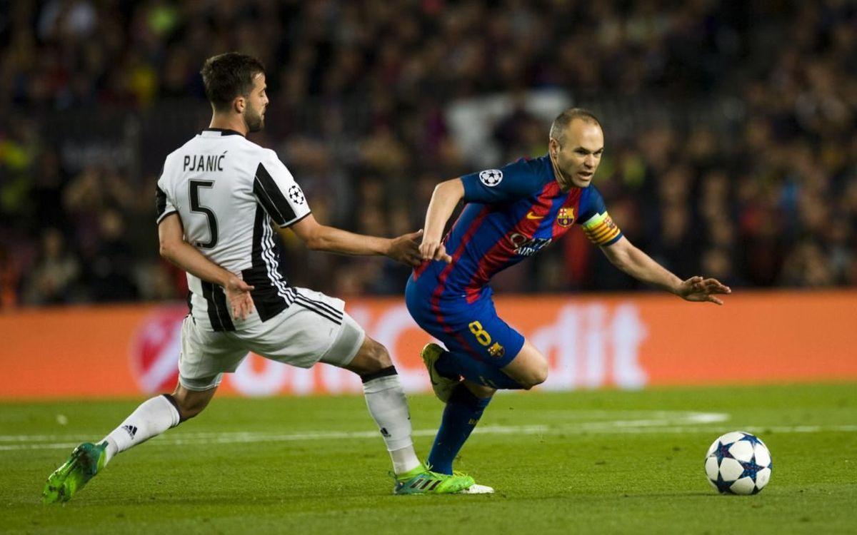 Pjanic vs Iniesta