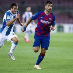 Luis Suarez vs Espanyol