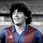 Diego Maradona 1960 - 2020