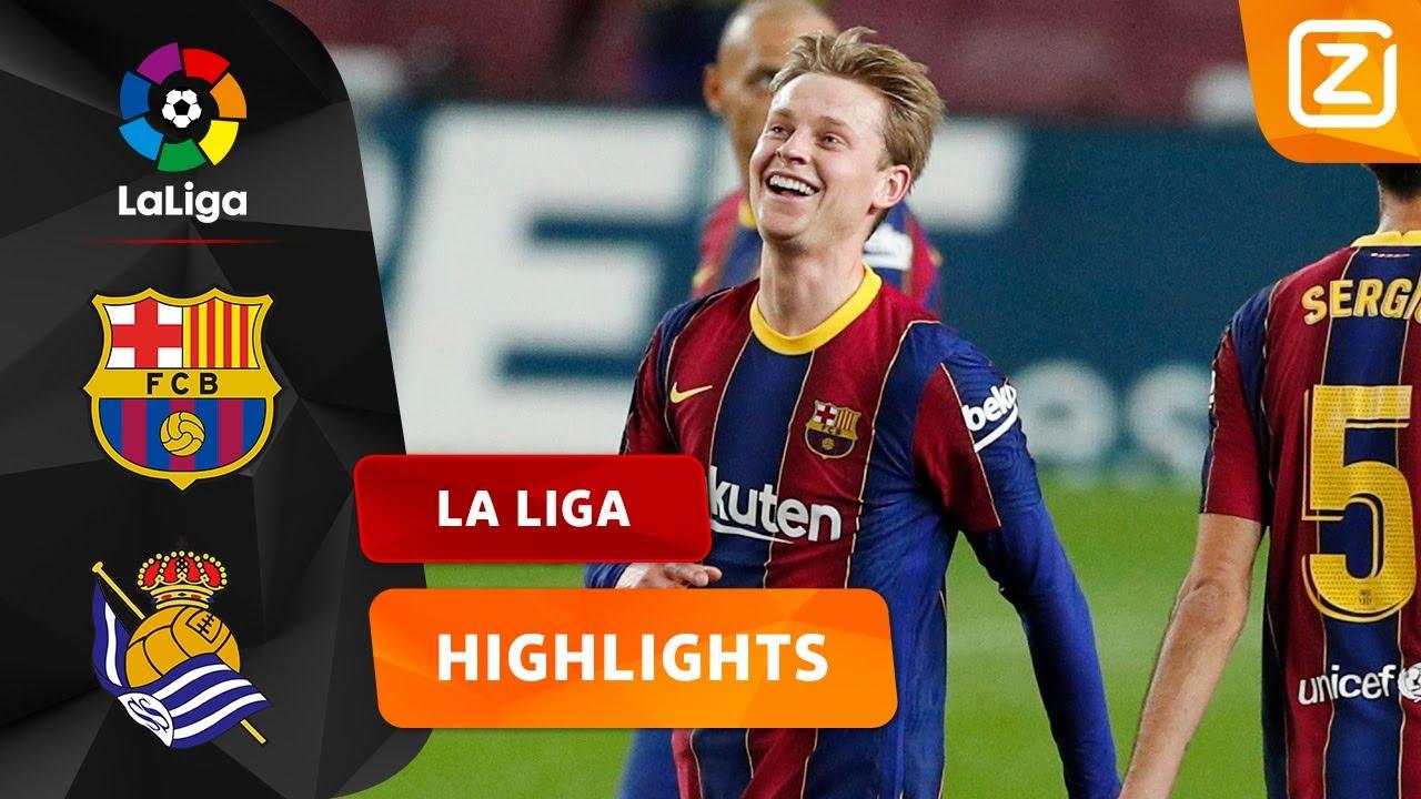 Samenvatting FC Barcelona - Real Sociedad