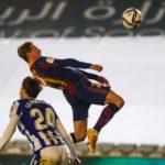 Frenkie de Jong kopt raak tegen Real Sociedad
