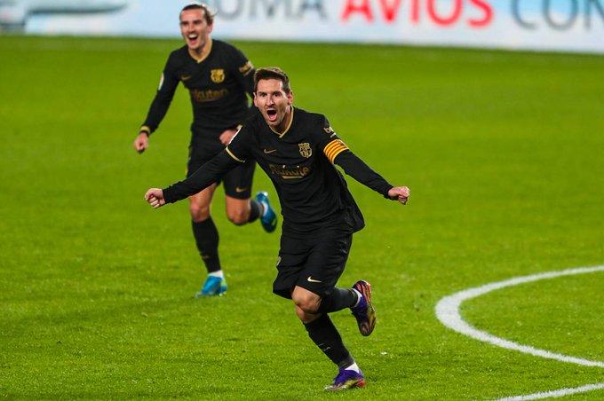 Lionel Messi heeft gescoord tegen Granada