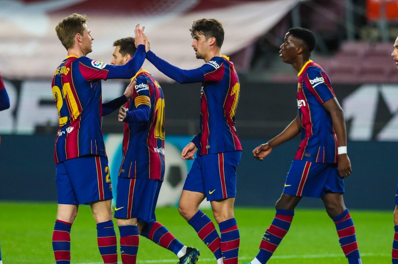 Trincao - Moriba - FC Barcelona