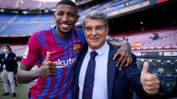 Emerson - Laporta | FC Barcelona