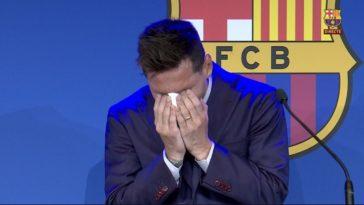 Messi tranen