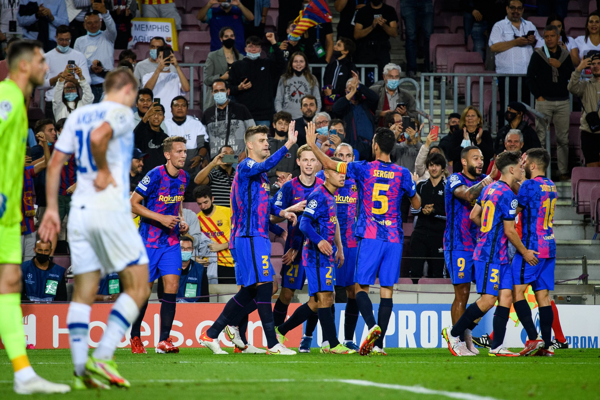 FC Barcelona - Dynamo Kiev
